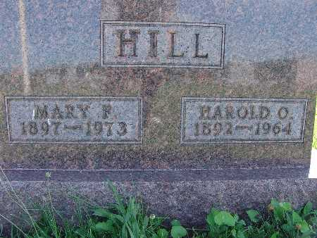 HILL, MARY F. - Warren County, Iowa | MARY F. HILL