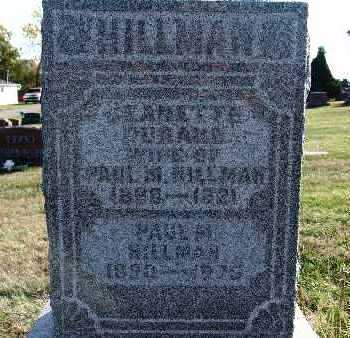 HILLMAN, PAUL M. - Warren County, Iowa | PAUL M. HILLMAN