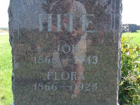 HITE, FLORA - Warren County, Iowa | FLORA HITE