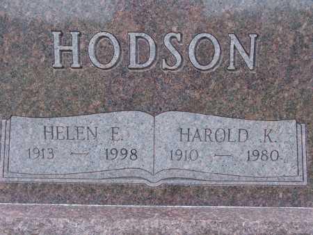 HODSON, HELEN E. - Warren County, Iowa | HELEN E. HODSON