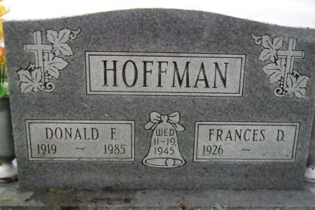 HOFFMAN, DONALD F. - Warren County, Iowa | DONALD F. HOFFMAN
