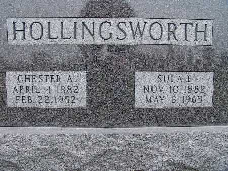 HOLLINGSWORTH, SULA E. - Warren County, Iowa | SULA E. HOLLINGSWORTH