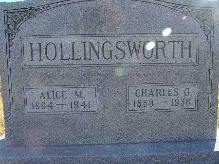 HOLLINGSWORTH, ALICE M. - Warren County, Iowa | ALICE M. HOLLINGSWORTH