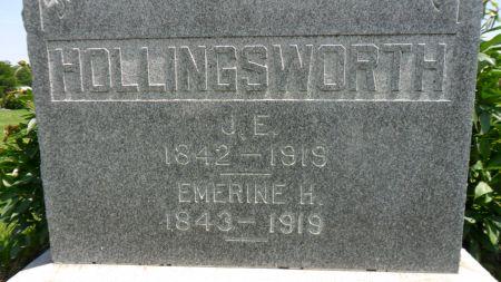 HOLLINGSWORTH, EMERINE H. - Warren County, Iowa | EMERINE H. HOLLINGSWORTH