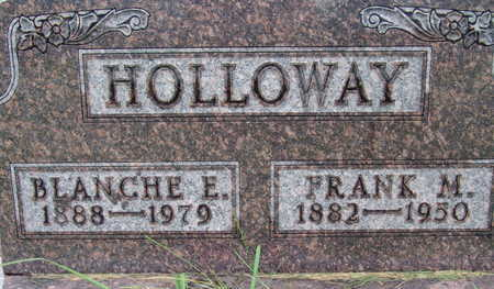 HOLLOWAY, BLANCHE E - Warren County, Iowa | BLANCHE E HOLLOWAY