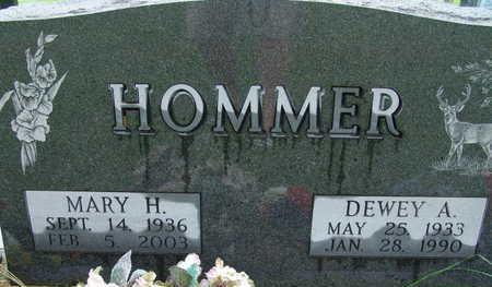 HOMMER, DEWEY A - Warren County, Iowa | DEWEY A HOMMER