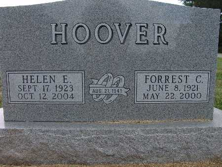 HOOVER, HELEN E. - Warren County, Iowa | HELEN E. HOOVER