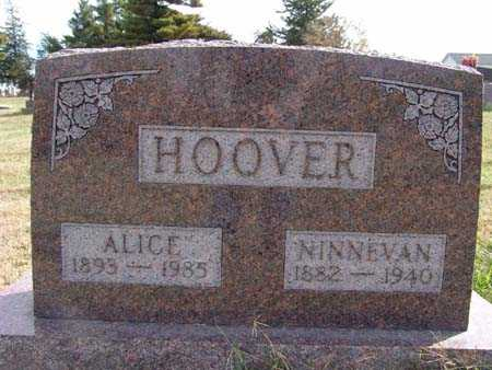 HOOVER, NINNEVAN - Warren County, Iowa | NINNEVAN HOOVER