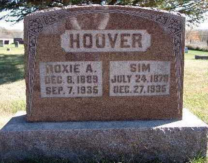 HOOVER, ROXIE A. - Warren County, Iowa | ROXIE A. HOOVER