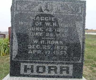 HORR, W. H. - Warren County, Iowa | W. H. HORR