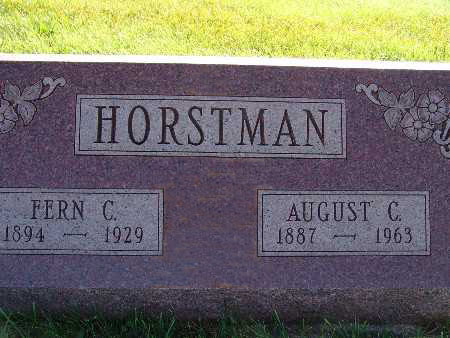HORSTMAN, AUGUST C. - Warren County, Iowa | AUGUST C. HORSTMAN