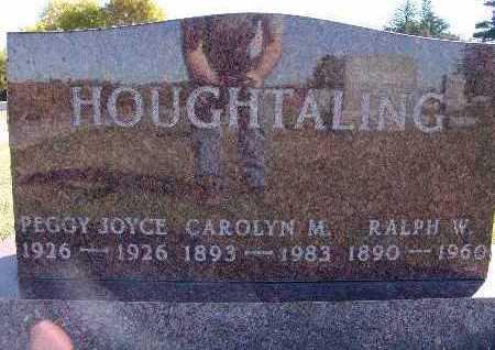 HOUGHTALING, PEGGY JOYCE - Warren County, Iowa | PEGGY JOYCE HOUGHTALING