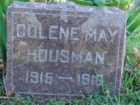 HOUSMAN, COLENE MAY - Warren County, Iowa | COLENE MAY HOUSMAN