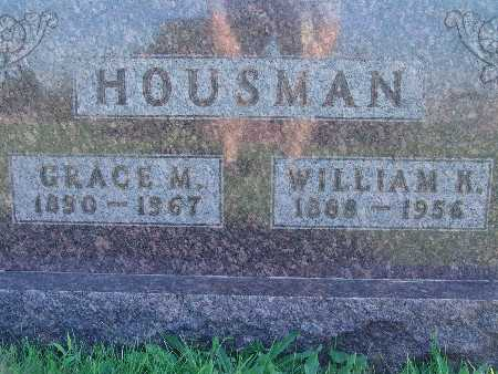 HOUSMAN, WILLIAM K - Warren County, Iowa | WILLIAM K HOUSMAN