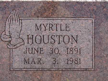 HOUSTON, MYRTLE - Warren County, Iowa | MYRTLE HOUSTON