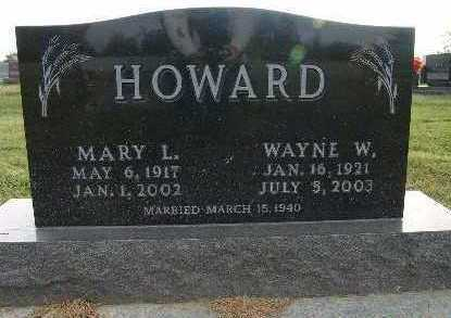 HOWARD, MARY L. - Warren County, Iowa | MARY L. HOWARD