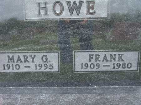 HOWE, MARY G. - Warren County, Iowa | MARY G. HOWE