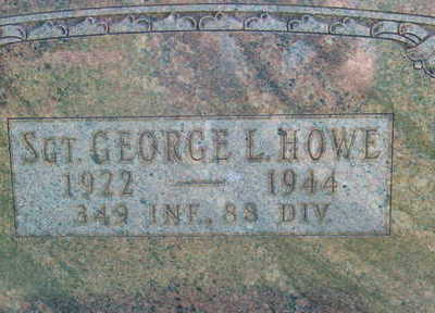 HOWE, GEORGE L - Warren County, Iowa | GEORGE L HOWE