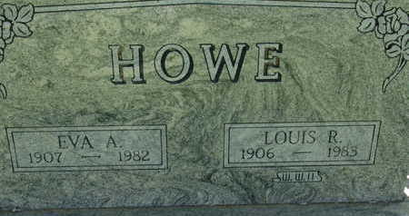 HOWE, EVA A - Warren County, Iowa | EVA A HOWE