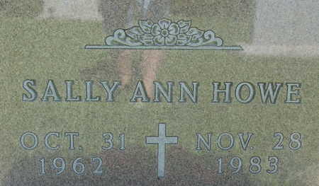 HOWE, SALLY ANN - Warren County, Iowa   SALLY ANN HOWE