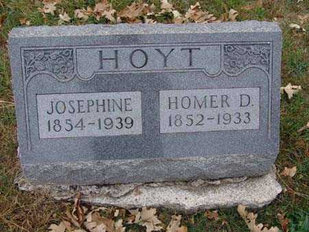 HOYT, HOMER D. - Warren County, Iowa | HOMER D. HOYT
