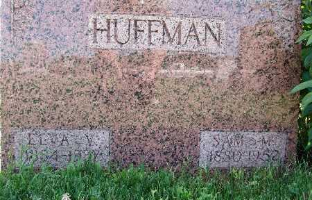 HUFFMAN, SAM M. - Warren County, Iowa | SAM M. HUFFMAN