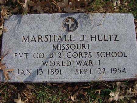 HULTZ, MARSHALL J. - Warren County, Iowa   MARSHALL J. HULTZ