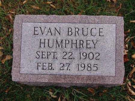 HUMPHREY, EVAN BRUCE - Warren County, Iowa   EVAN BRUCE HUMPHREY