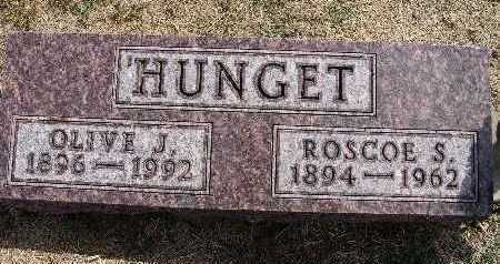 HUNGET, ROSCOE S. - Warren County, Iowa | ROSCOE S. HUNGET