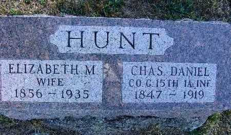 HUNT, CHAS DANIEL - Warren County, Iowa | CHAS DANIEL HUNT