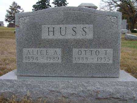 HUSS, OTTO T. - Warren County, Iowa | OTTO T. HUSS