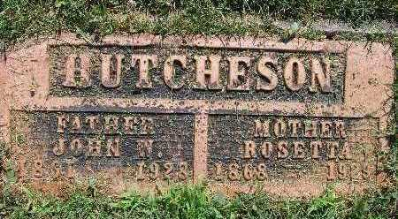 HUTCHESON, ROSETTA - Warren County, Iowa | ROSETTA HUTCHESON