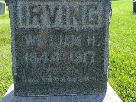 IRVING, WILLIAM H - Warren County, Iowa | WILLIAM H IRVING