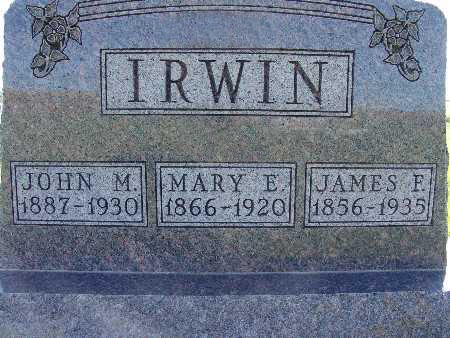 IRWIN, MARY E. - Warren County, Iowa | MARY E. IRWIN