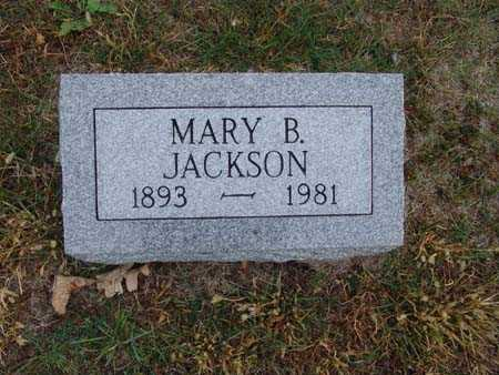 JACKSON, MARY B. - Warren County, Iowa | MARY B. JACKSON
