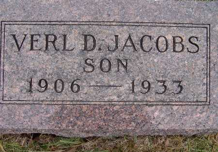 JACOBS, VERL D. - Warren County, Iowa | VERL D. JACOBS
