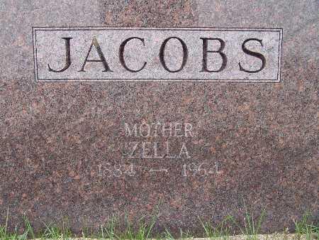 HOLLINGSWORTH JACOBS, ZELLA - Warren County, Iowa | ZELLA HOLLINGSWORTH JACOBS