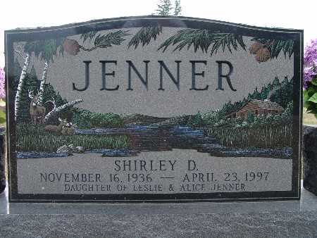 JENNER, SHIRLEY D. - Warren County, Iowa | SHIRLEY D. JENNER
