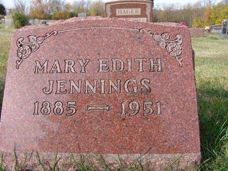 JENNINGS, MARY EDITH - Warren County, Iowa | MARY EDITH JENNINGS