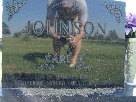 JOHNSON, CARL E. - Warren County, Iowa | CARL E. JOHNSON