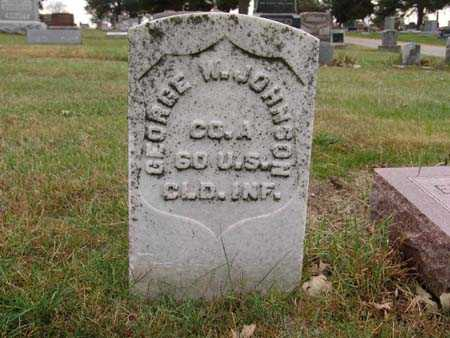 JOHNSON, GEORGE W. - Warren County, Iowa | GEORGE W. JOHNSON