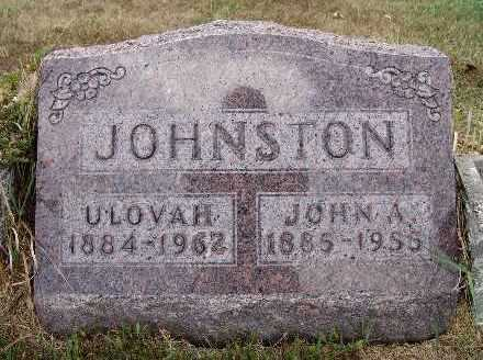 JOHNSON, ULOVAH - Warren County, Iowa | ULOVAH JOHNSON