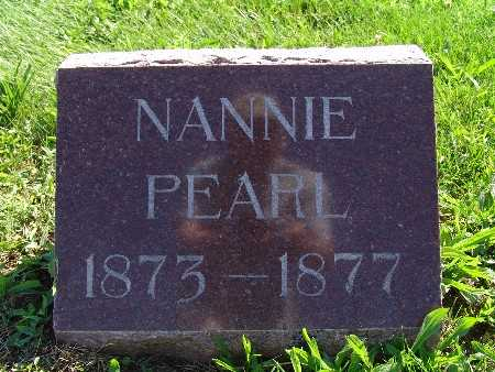 JOHNSON, NANNIE PEARL - Warren County, Iowa | NANNIE PEARL JOHNSON