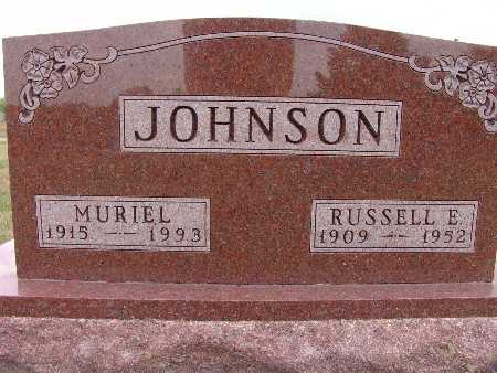 JOHNSON, RUSSELL E. - Warren County, Iowa | RUSSELL E. JOHNSON