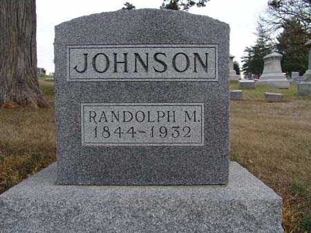 JOHNSON, RANDOLPH M. - Warren County, Iowa | RANDOLPH M. JOHNSON