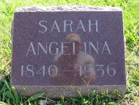 JOHNSON, SARAH ANGELINA - Warren County, Iowa | SARAH ANGELINA JOHNSON