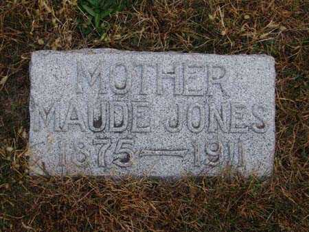 JONES, MAUDE - Warren County, Iowa | MAUDE JONES