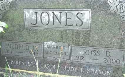 JONES, MILDRED D - Warren County, Iowa | MILDRED D JONES