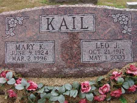 KAIL, LEO J. - Warren County, Iowa | LEO J. KAIL