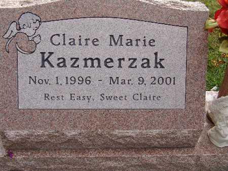 KAZMERZAK, CLAIRE MARIE - Warren County, Iowa | CLAIRE MARIE KAZMERZAK